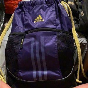Adidas drawstring bag! Perfect condition!